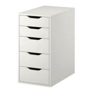 Alex 5 Drawers, Ikea